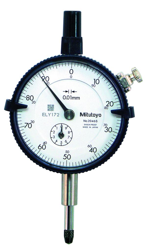 Mitutoyo meetklok 2046 SB 10mm / 0,01mm