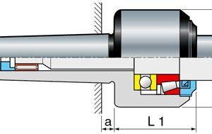 Sassatelli meedraaiende centers type GT-SL MK4  met copieer punt