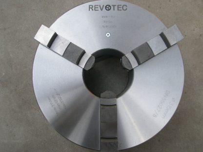 Revotec zelfcentrerende 3-klauwplaat 250mm 55027 / 8