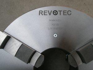 Revotec zelfcentrerende 3-klauwplaat 250mm - 55027 / 6