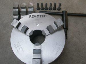 Revotec stalen zelfcentr. 3-klauwplaat 315mm DIN 55027 / 8