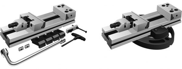 Modulaire machineklem 150x300mm