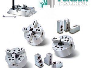 Chandox hydraulische CNC 3-Klauwplaat OP-206 A2-5″ 165mm