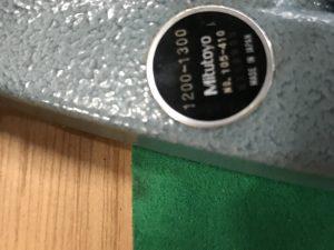 Mitutoyo schroefmaat 1000-1100mm