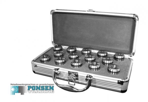 Spantangen set in aluminium koffer