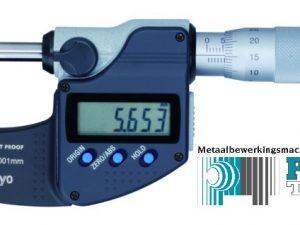 Mitutoyo dig. schroefmaat  IP65 0-25mm + gegevens uitgang  293-230-30